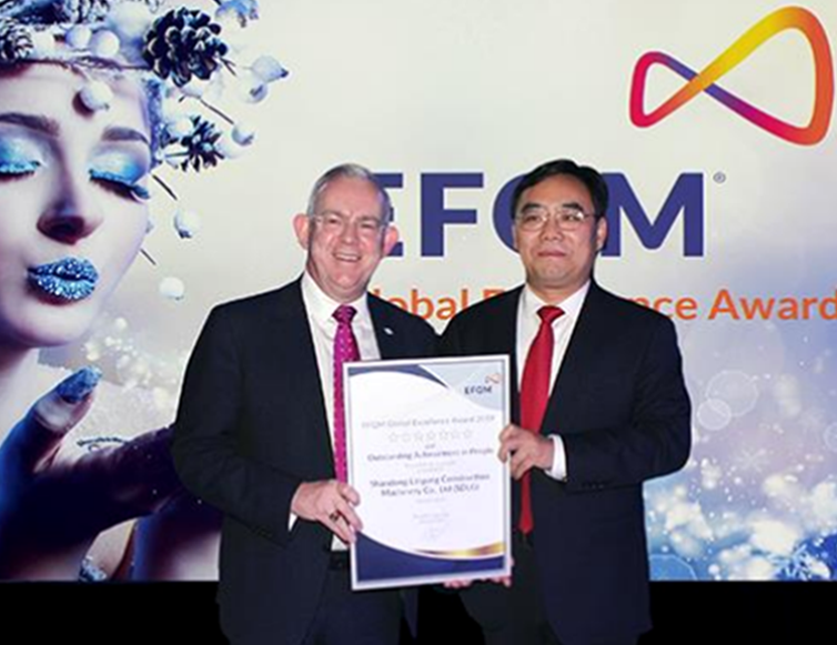 SDLG wins seven-star Global Excellence prize for Outstanding Achievement in People at the EFQM awards