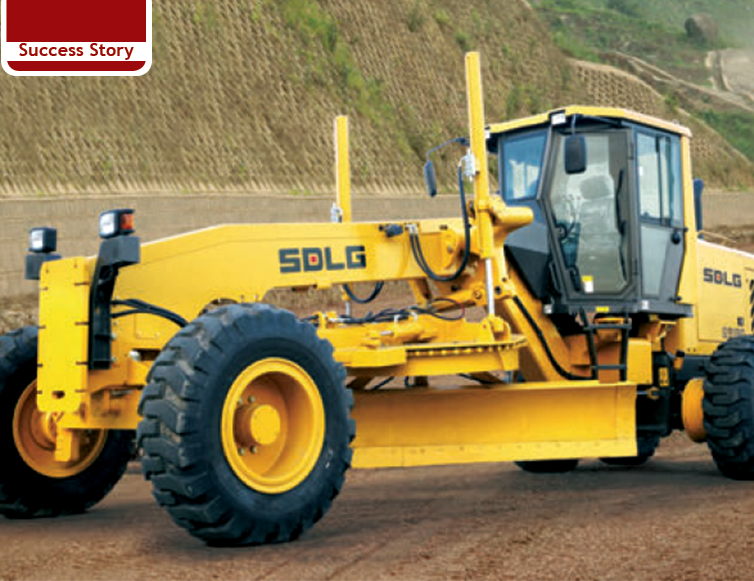 SDLG motor graders ramping up road expansion works in India