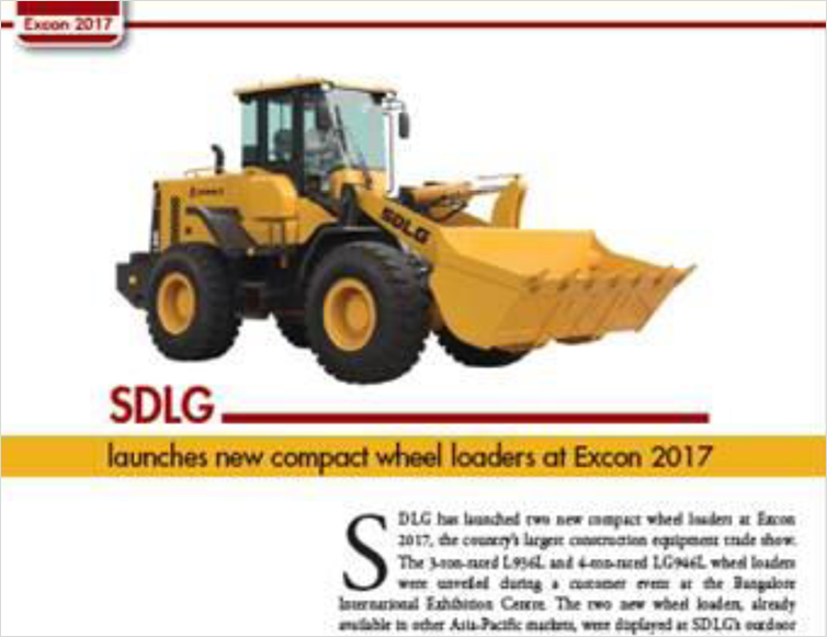 Launches New Compact Wheel Loaders at Excon 2017